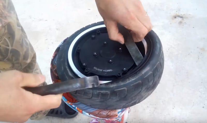 Как заменить камеру на гироскутере