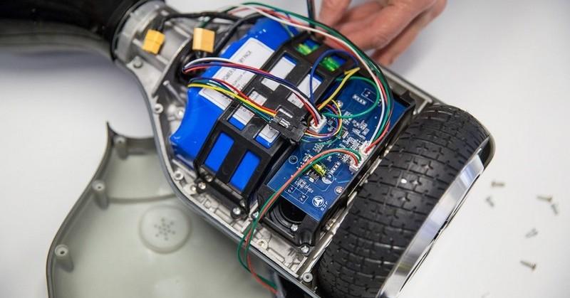восстановить старый аккумулятор гироскутера